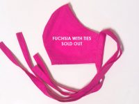 Adult Cloth Face Mask – Fuchsia