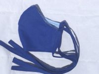 Adult Cloth Face Mask – Bright Blue