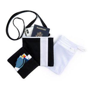 Photo of Mini Essentials Bag Set in black, front side