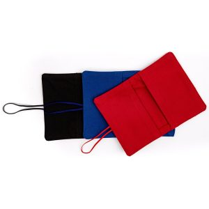 LARGE FLIP POUCH™ Duo (Red and Black)