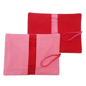 LARGE FLIP POUCH™ Duo (Pink and Red)