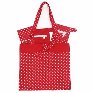 Wardrobe Organizing Kit (Red Polka Dot)