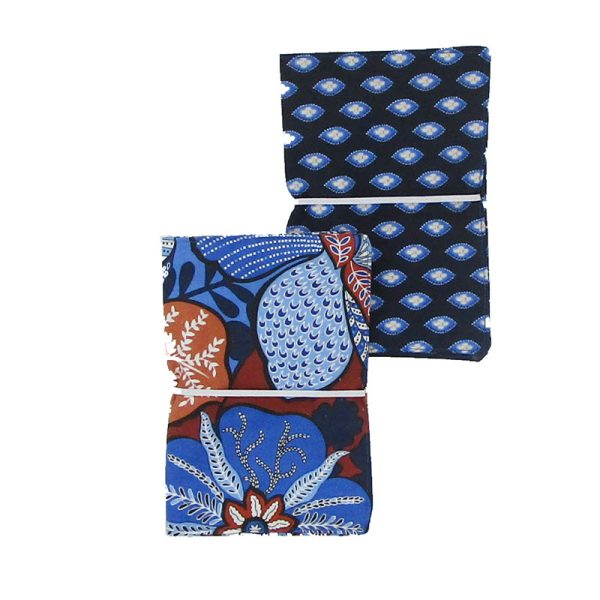Large Flip Pouch Duo - Bali Mix (closed)
